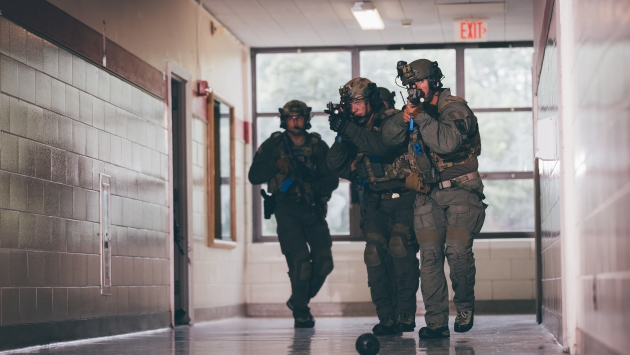 Special Operations Response Team trains in Western New York.